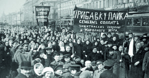 corteo di donne a Pietrogrado